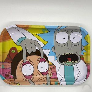 Rick and Morty Rolling Tray 7 X 11""